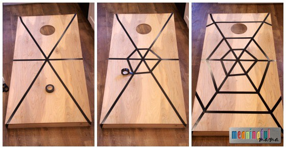 spider-corn-hole-game-for-harvest-party